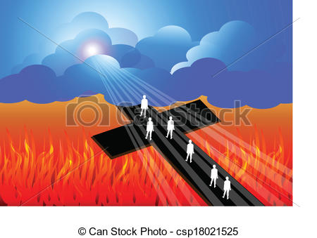 road-to-salvation-illustration_csp18021525