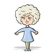 cartoon-bitter-old-woman-illustration_csp20783428